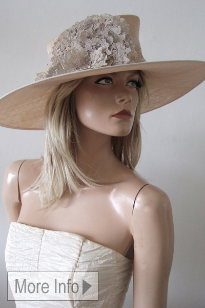 Vivien Sheriff Designer Hat Hire. Hats for Ascot. Mother of the Bride Hats