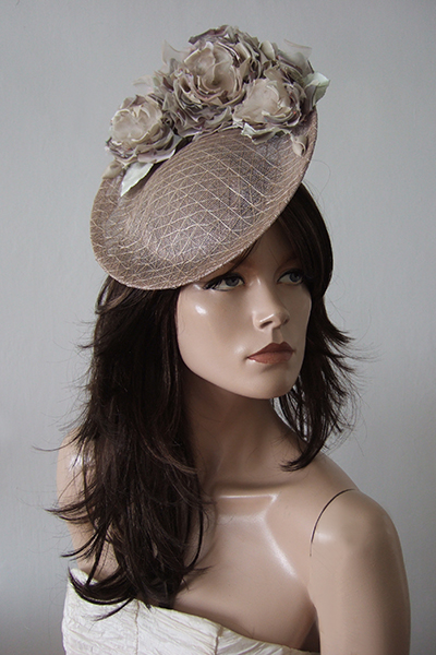 Rachel Trevor Morgan Floral Flower Hat. Ascot Hats. Hats for Royal Ascot, Hats for weddings, Mother of the Bride Hats, What to wear to Royal Ascot Races