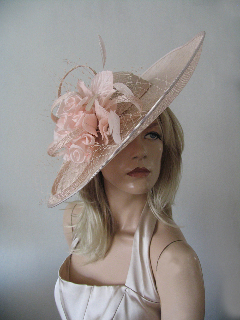 Blush Formal Wedding Guest Hats 2021. Blush Pink Hats for Royal Ascot 2021. Blush Pink Hatinator Hats, Formal Hat Hire 2021. Hat Hire Berkshire. Wedding guest hats 2021. Hats for Hire 2020. Blush Pink Ladies Wedding Hats. Blush Pink Mother of the Bride Hats 2021. Royal Ascot Hat Rental 2021. Wedding Hats for Hire UK 2021. Hire Hats for Epsom Races 2021.