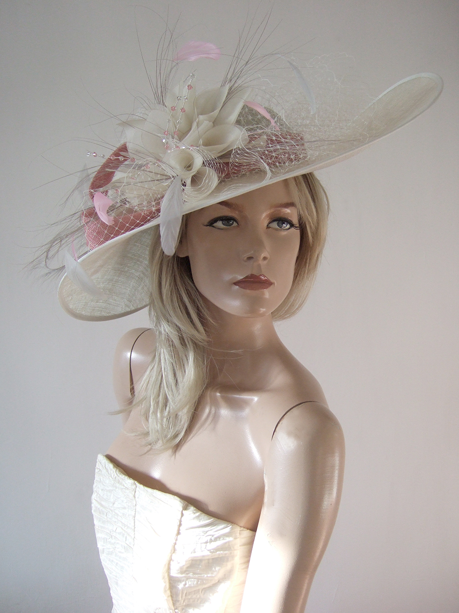 Big Hat for Royal Ascot 2020. Royal Ascot Hat Rental 2020. Hat Hire Berkshire. Amazing Royal Ascot Hats 2020. Ladies Wedding Hats for Hire 2020. Dusky Pink Mother of the Bride Hats 2020. Royal Ascot Hat Rental 2020. Formal Wedding Hats for Hire UK 2020. Mother of the Bride Hat Hire UK.