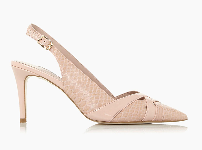 Dune Nude Shoes. Nude Colour Mother of the bride Shoes. Champagne Shoes 2021. Nude coloured shoes for summer races. Court Shoes Shoes for the Races. Shoes to wear with a Nude Dress. Champagne Mother of the Bride shoes 2021.