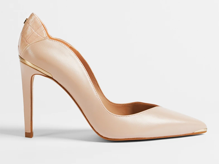 Ted Baker Blush Nude shoes 2021. Blush Pink Nude Mother of the Bride Court Shoes 2021. Shoes for Mother of the Bride 2021. Nude Blush Pink Shoes 2021. Nude shoes for the races. Nude court shoes 2021.