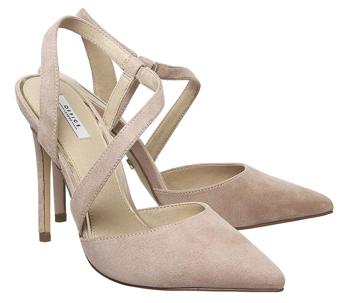 Nude Colour Suede Shoes. Nude Colour Court shoes 2021. Nude colour high heel shoes 2021. Shoes to wear with a natural colour dress. Nude tone Royal Ascot outfit ideas 2021. Natural colour Mother of the bride shoes 2020.
