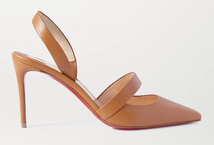 Christain Louboutin Nude Shoes. Christian Louboutin Actina Shoes. Nude Shoes Spring 2021. Nude shoes to wear to the races. Shoes to wear with a Nude colour dress. Royal Ascot outfit ideas 2021. Nude colour Mother of the bride shoes 2021.