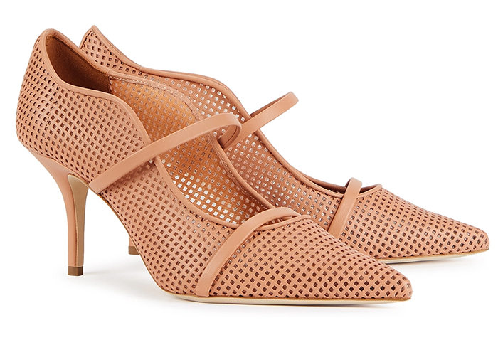 Malone Souliers Nude shoes. Malone Souliers Maureen Shoes 2020. Nude Shoes Spring 2021. Nude shoes to wear to the races. Shoes to wear with a Nude colour dress 2021. Royal Ascot outfit ideas 2021. Nude colour Mother of the bride shoes 2021.