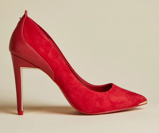 Ted Baker Red Shoes 2020. Red shoes for Summer wedding Guest 2021. Red shoes for Royal Ascot 2021. Red Mother of the Bride Shoes 2021. Shoes to wear with a Red Dress. What to wear with a Red Dress.