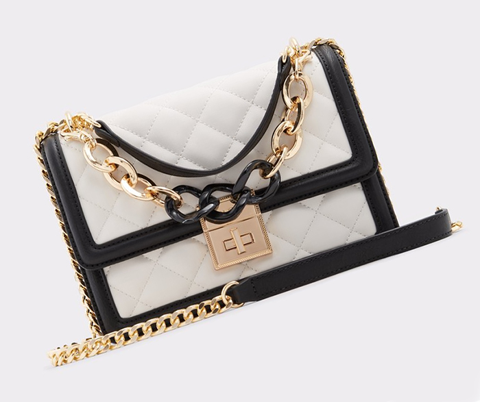 Bag to wear with a Black and White Dress. Black and White Mother of the Bride Hand Bag. Black White Quilted Hand Bag. Royal Ascot Outfit ideas 2021. Hand Bags for the Races. Gold Mother of the Bride outfit ideas 2021.