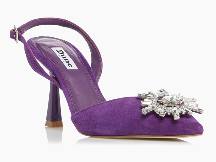 Purple Shoes for Mother of the Bride 2021. Cadbury Purple colour Shoes. Shoes in Cadburys Purple. Ultra Violet Purple Shoes. Purple Shoes for Wedding Guests 2021. Purple outfit ideas 2021. Purple Mother of the Groom outfits 2021.