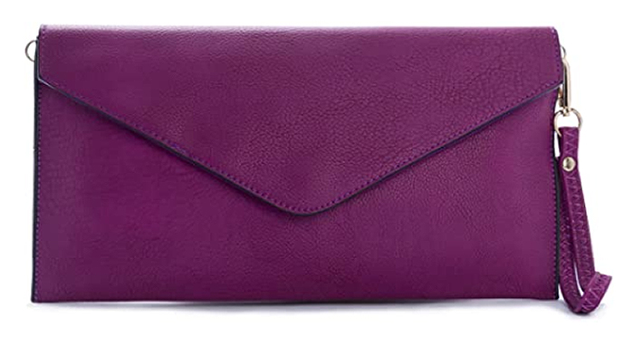 Grape Purple Clutch Bag 2020. Bag to wear with a Purple Dress 2020. Purple Outfits for the Races 2020. Purple Royal Ascot outfit ideas 2021. Purple Bag for Mother of the Bride.