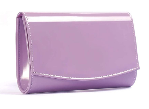 Lilac Purple Clutch Bag 2021. Bag to wear with a Lilac Dress 2021. Purple Outfits for the Races 2021. Purple Royal Ascot outfit ideas 2021. Lilac Bag for Mother of the Bride 2021.