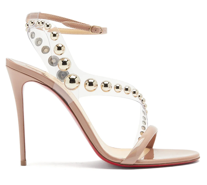 Christian Louboutin Blush Nude shoes 2021. Blush Pink Mother of the Bride Court Shoes 2021. Shoes for Mother of the Bride 2021. Nude Blush Pink Shoes 2021. Nude Shoes for the races 2021. Nude Christian Louboutin shoes 2021.