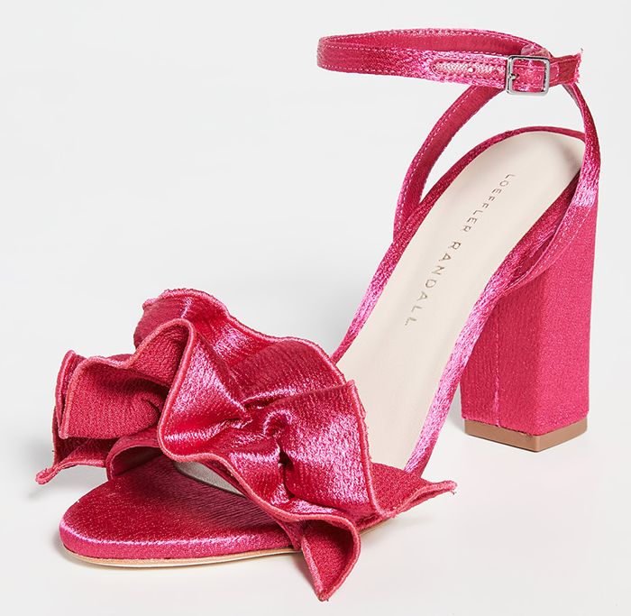 Hot Pink Block Heel Shoes 2021. Hot Pink Shoes for the Races 2021. Fuschia Pink Shoes 2021. Bright Pink Shoes for the races 2021. Shoes to wear with a Bright Pink Dress. Bright Pink Mother of the Bride Outfits 2021.