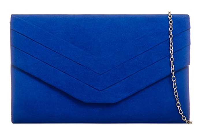 Bag to wear with Royal Blue Dress. Royal Blue Clutch Bag 2020. Royal Blue Mother of the Bride Clutch Bag. Royal Blue Clutch Bag. Royal Blue outfit inspiration. Royal Blue Wedding Guest outfits 2021.