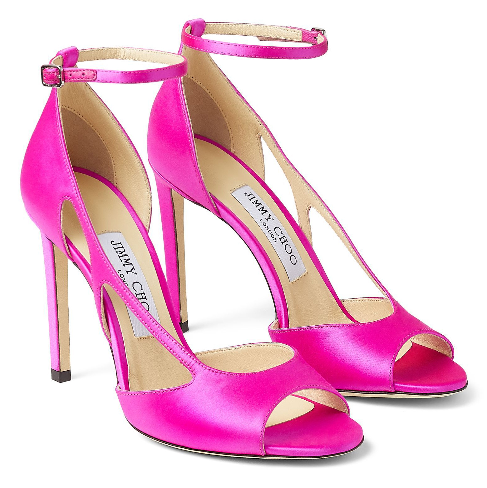 Jimmy Choo Liu Shoes. Bright Pink High Heel Shoes. Jimmy Choo Fuchsia Pink Shoes. Fuchsia Pink Shoes for the Races 2021. Bright Pink colour shoes to wear to the races. Pink High Heels for the Races. Shoes to wear with a Bright Pink Dress. Hot Pink outfits for the races. What to wear to the races 2021.