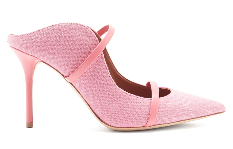 Blossom pink shoes 2021. Malone Souliers Pink Shoes 2021. Pink Mother of the Bride Shoes 2021. Shoes to wear with a Pink Dress 2021. Pink shoes for Royal Ascot 2021. Malone Souliers Maureen Shoes 2021. Pink medium heel shoes. Pink shoes for the races. Shoes to wear with a pink dress.