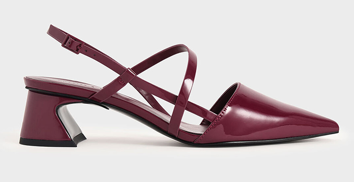 Burgundy Shoes for Winter Wedding 2020. Burgundy shoes to wear to the races 2021. Shoes to wear with a burgundy colour dress. Burgundy Royal Ascot outfit ideas 2021. Burgundy mother of the bride shoes.