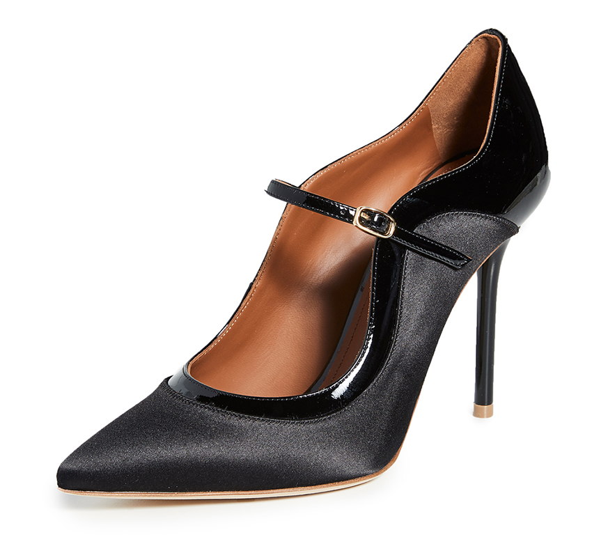 Best Black Stiletto Shoes. Malone Souliers Black Shoes. Black stiletto shoes for the Races. Outfit ideas for the Races. Black Mother of the Bride shoes 2020.