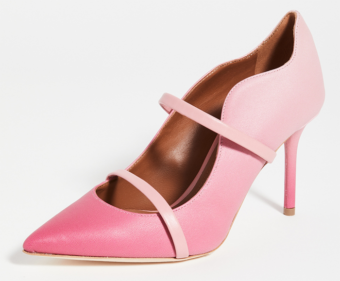 Pink Mother of the Bride Shoes 2021. Malone Souliers Pink Ombre Maureen Shoes. Pink Shoes for Spring Summer Wedding guest 2021. Mother of the Bride outfit ideas for Spring Summer 2021. Designer Pink Mother of the Bride Shoes. Pink Mother of the Bride outfits. Pink Royal Ascot outfit ideas 2021. Designer Mother of the Bride Shoes 2021. Pink Shoes for Royal Ascot 2021. Baby Pink Shoes. Pink Court Shoes.