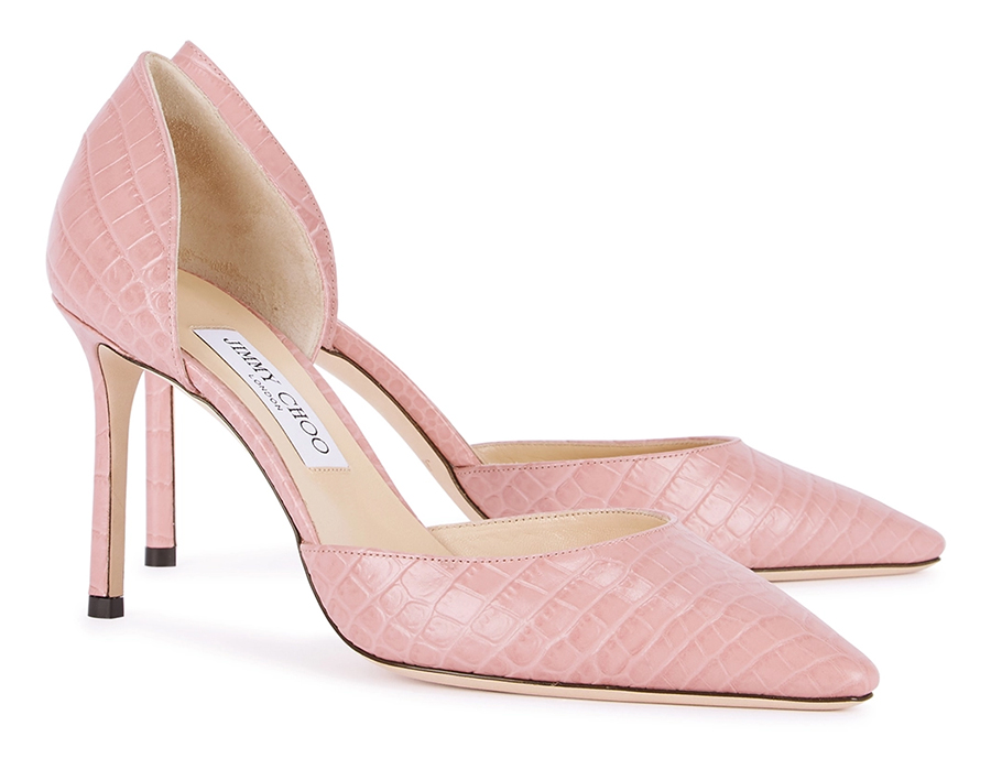 Jimmy Choo Pink Shoes. Jimmy Choo Mother of the Bride Shoes. Shoes to wear with a Pink Dress. Shoes for Royal Ascot. Shoes for Summer Wedding Guests. Pink Shoes for Royal Ascot. Mother of the Bride Outfits. Shoes for Ascot 2021.