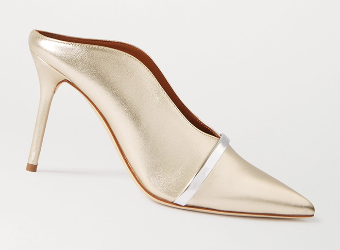 Malone Souliers Shoes for summer 2020. Gold shoes to wear to the races. Shoes to wear with a champagne gold dress. Gold Royal Ascot outfit ideas. Gold Mother of the bride shoes 2020.