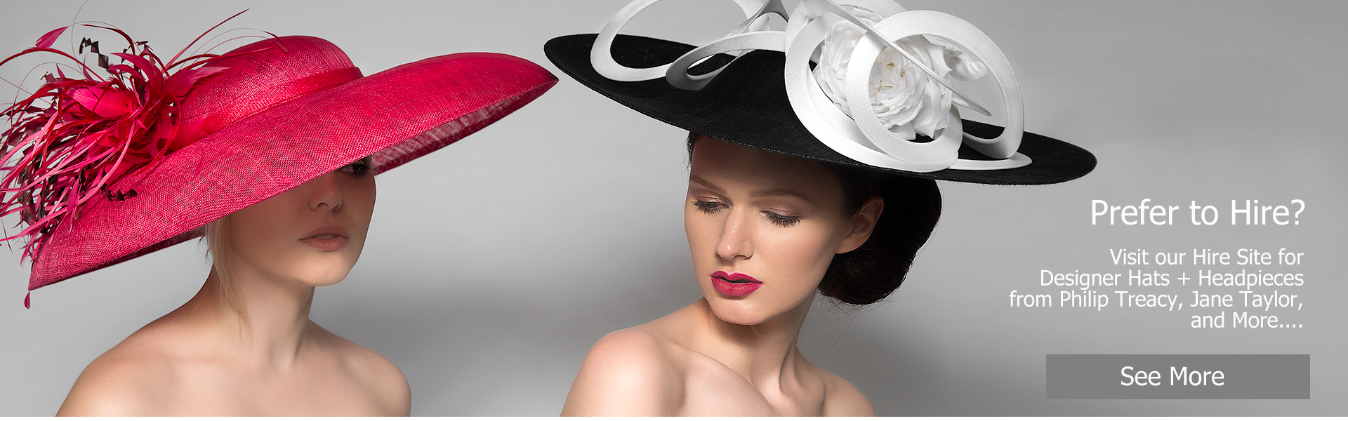 Designer Hat Hire Berkshire, Surrey, London or Mail Order for Racing or Weddings, Mother of the Bride Hats. The only Hat Hire at Royal Ascot Races, book online, collect and return on the day for Mens and Ladies Hats